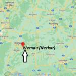 Wo ist Wernau (Neckar) (Postleitzahl 73249)