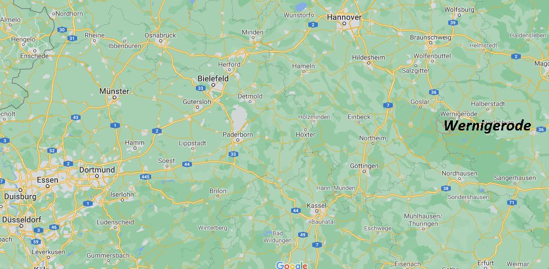In welchem Bundesland liegt Wernigerode