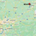 Wo ist Werther (Postleitzahl 33824)