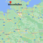 Wo ist Wesselburen (Postleitzahl 25764)