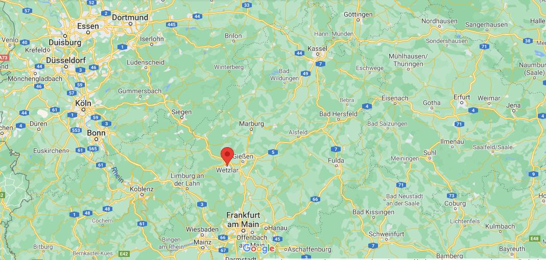 Wo ist Wetzlar (Postleitzahl 35576)