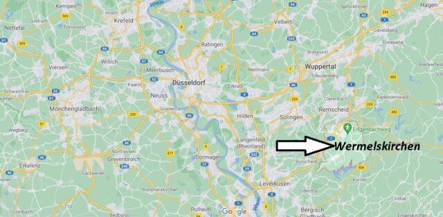 Wo liegt Wermelskirchen