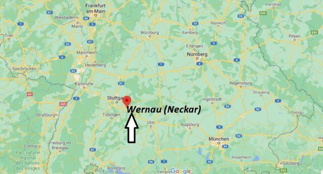 Wo liegt Wernau (Neckar)