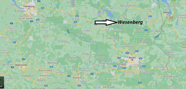 Wo liegt Wesenberg