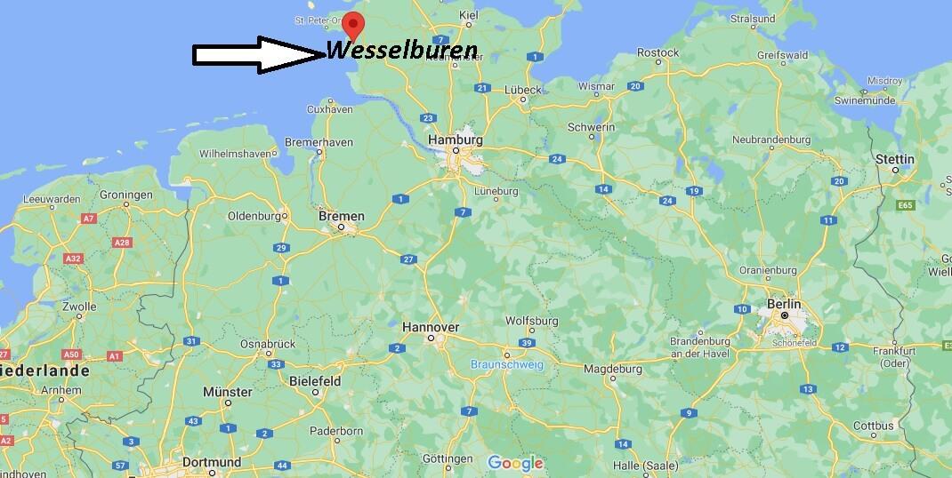 Wo liegt Wesselburen