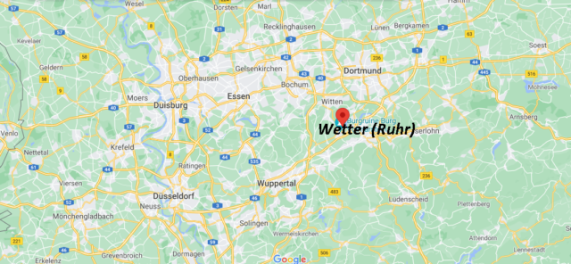 Wo liegt Wetter an der Ruhr