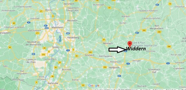 Wo liegt Widdern