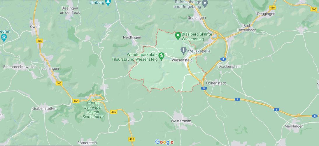 In welchem Bundesland liegt Wiesensteig