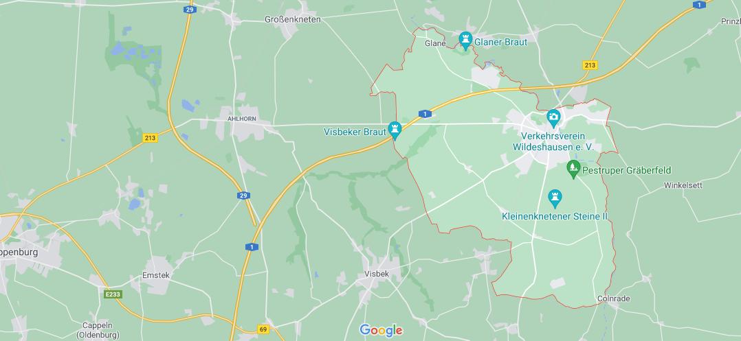 In welchem Bundesland liegt Wildeshausen