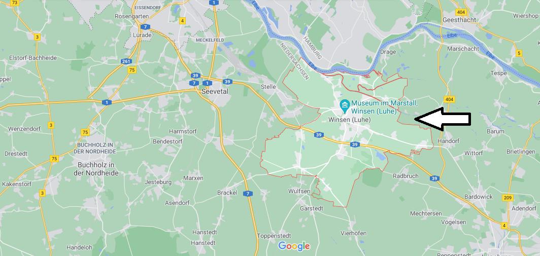 In welchem Bundesland liegt Winsen (Luhe)