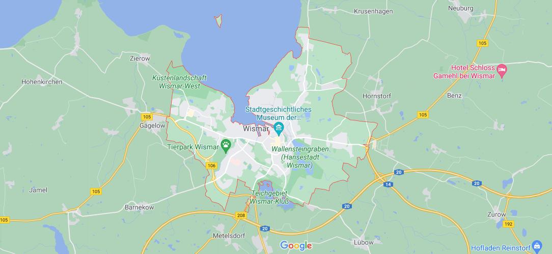 In welchem Bundesland liegt Wismar