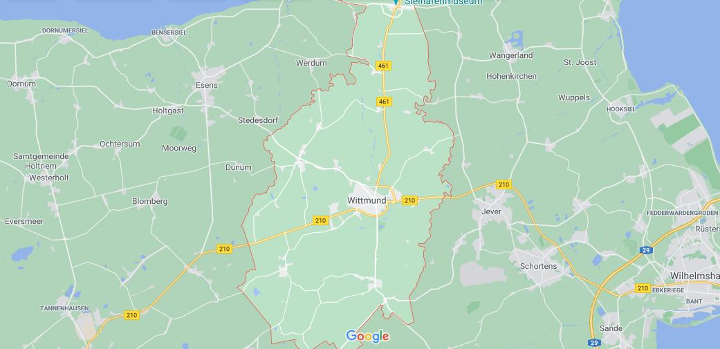 In welchem Bundesland liegt Wittmund
