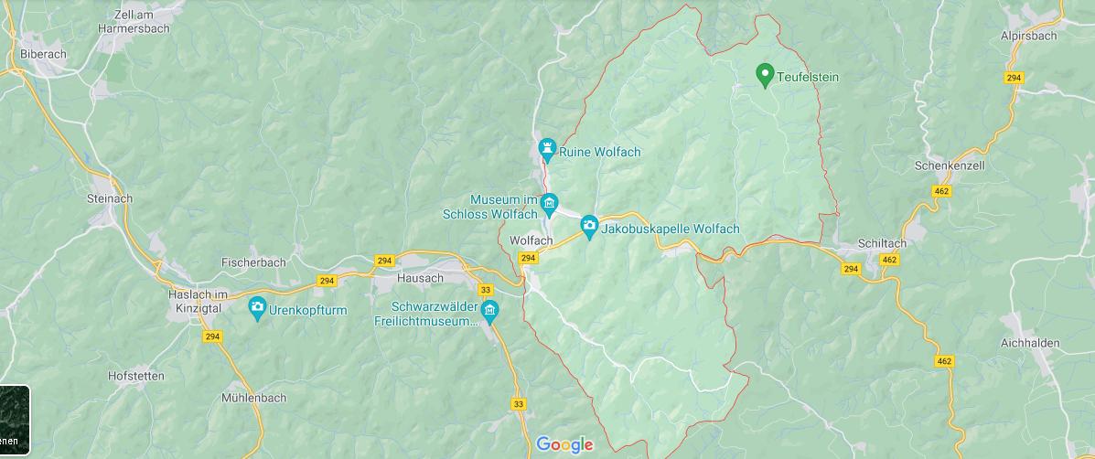 In welchem Bundesland liegt Wolfach