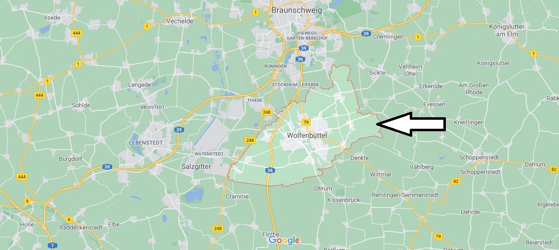 In welchem Bundesland liegt Wolfenbüttel