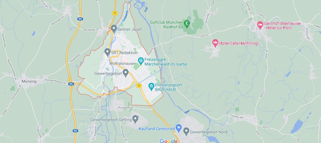 In welchem Bundesland liegt Wolfratshausen