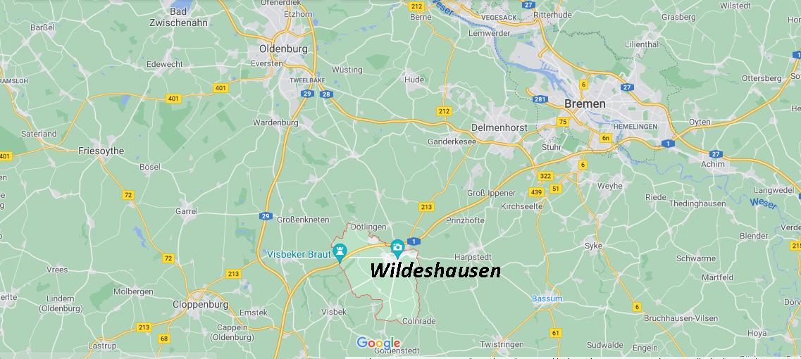 Wo ist Wildeshausen (Postleitzahl 27793)