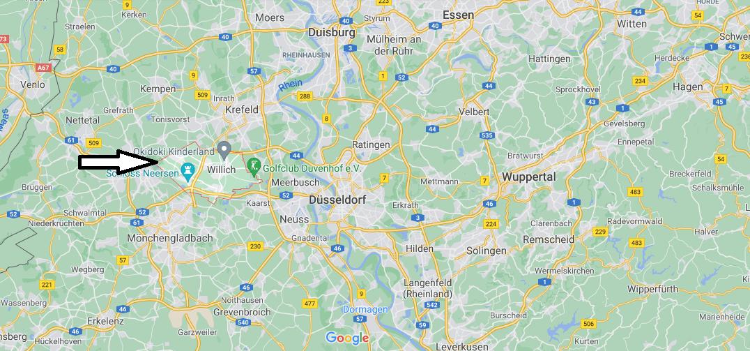 In welchem Bundesland liegt Willich
