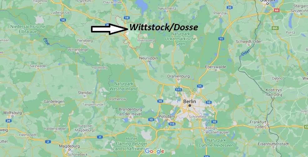 In welchem Bundesland liegt Wittstock Dosse