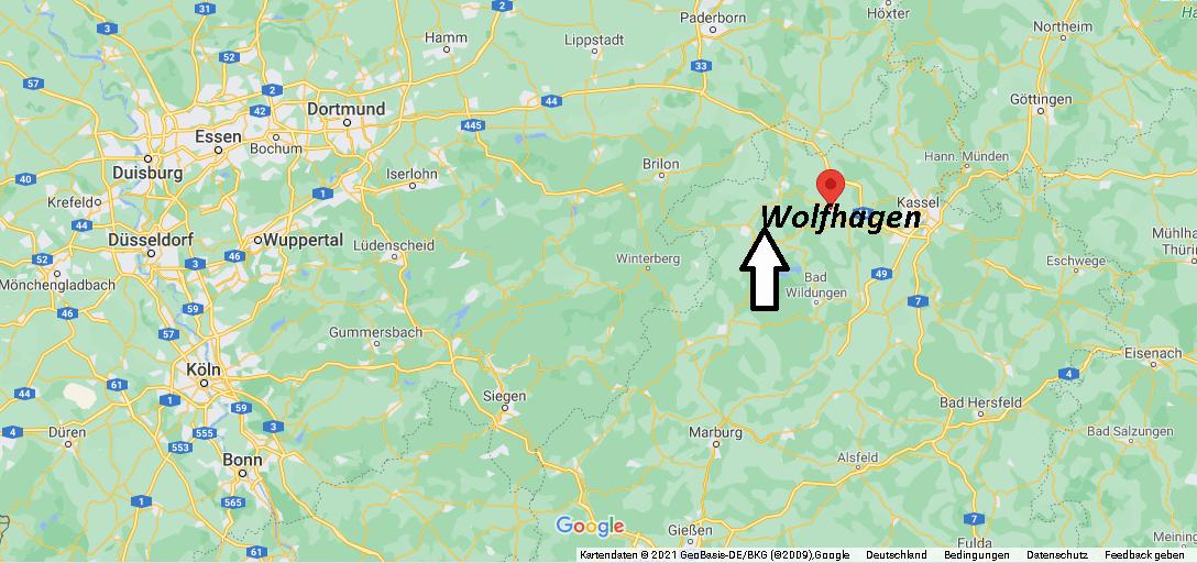 In welchem Bundesland liegt Wolfhagen