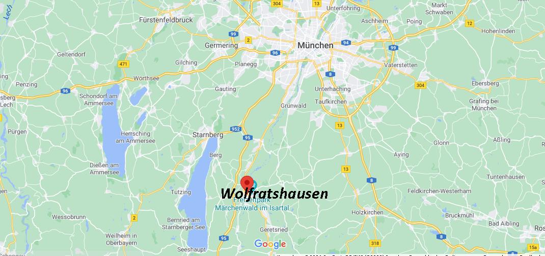 Wo ist Wolfratshausen (Postleitzahl 82515)
