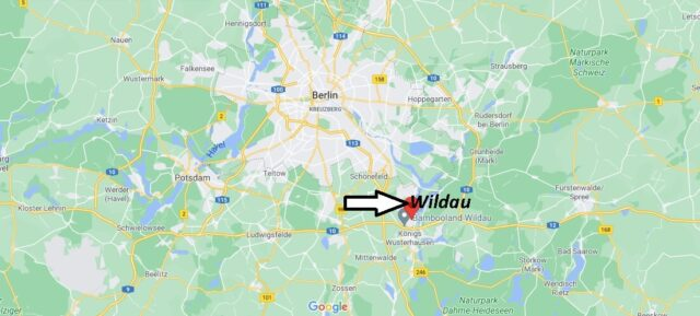 Wo liegt Wildau