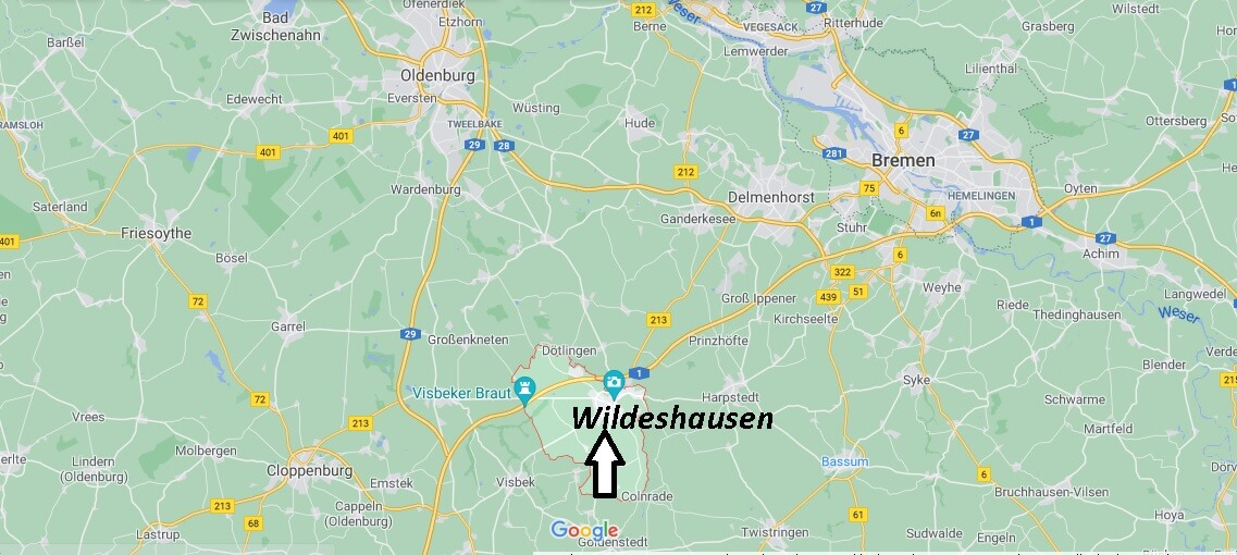 Wo liegt Wildeshausen