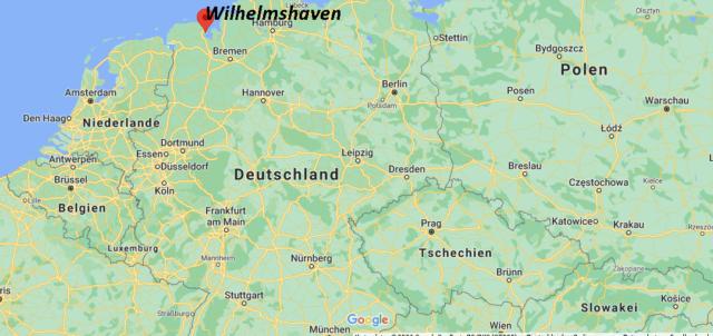 Wo liegt Wilhelmshaven