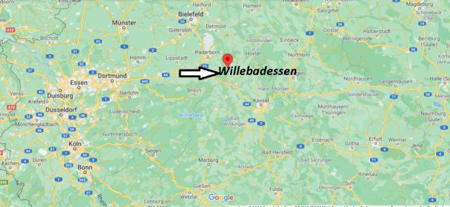 Wo liegt Willebadessen
