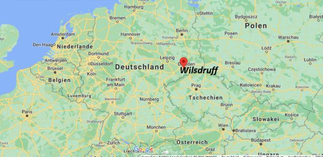 Wo liegt Wilsdruff