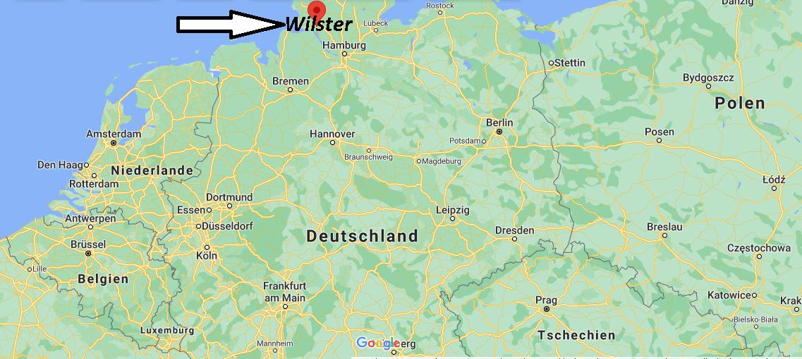 Wo liegt Wilster
