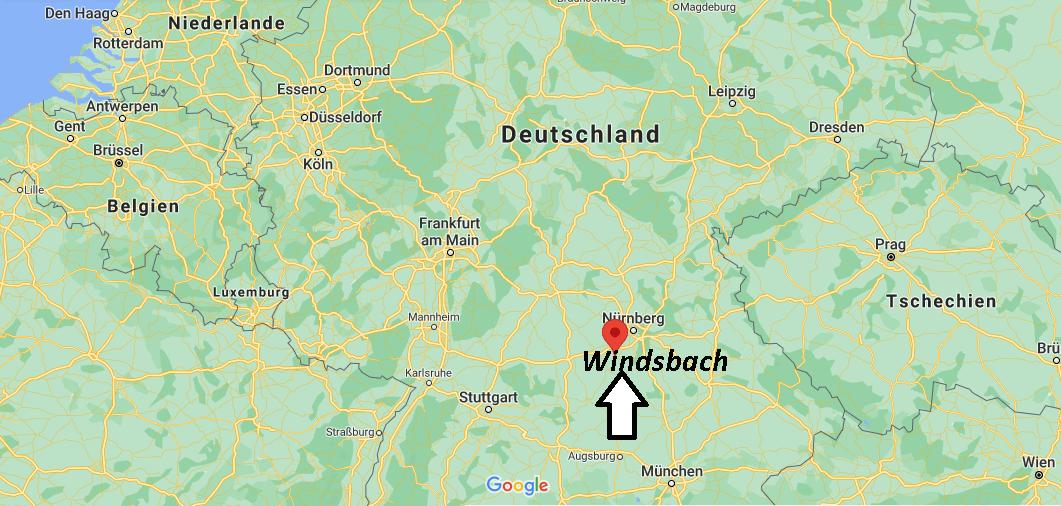Wo liegt Windsbach