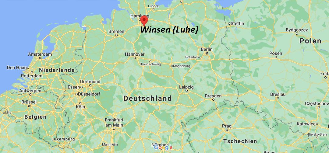 Wo liegt Winsen (Luhe)