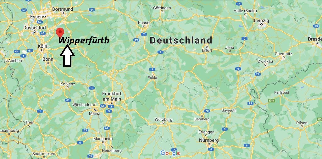 Wo liegt Wipperfürth