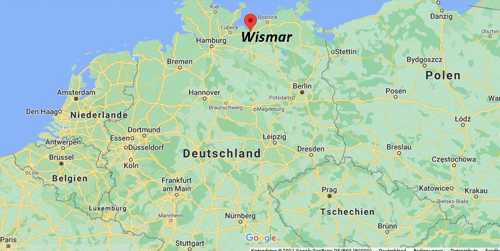 Wo liegt Wismar