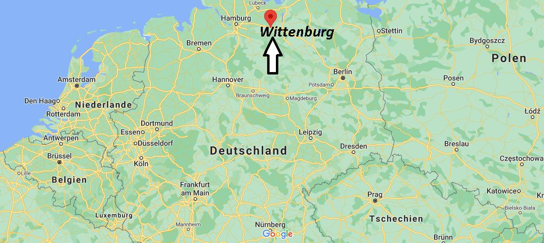 Wo liegt Wittenburg