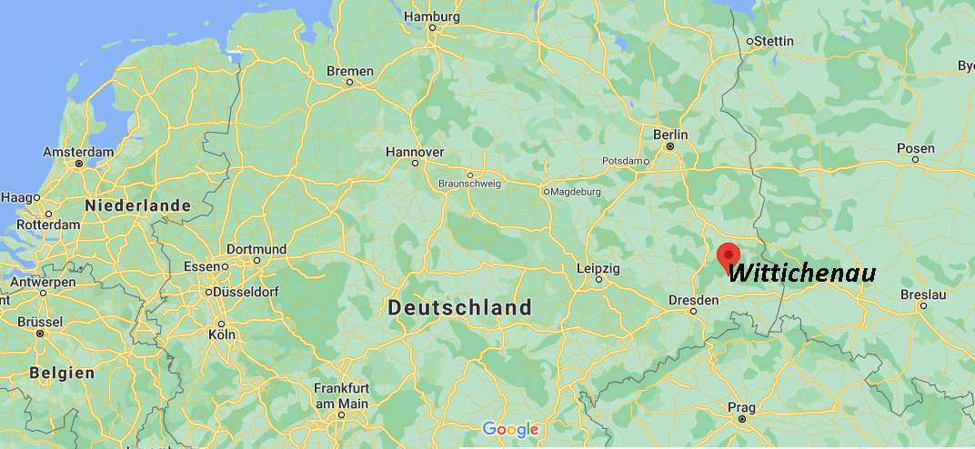 Wo liegt Wittichenau