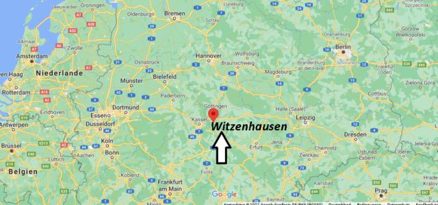 Wo liegt Witzenhausen