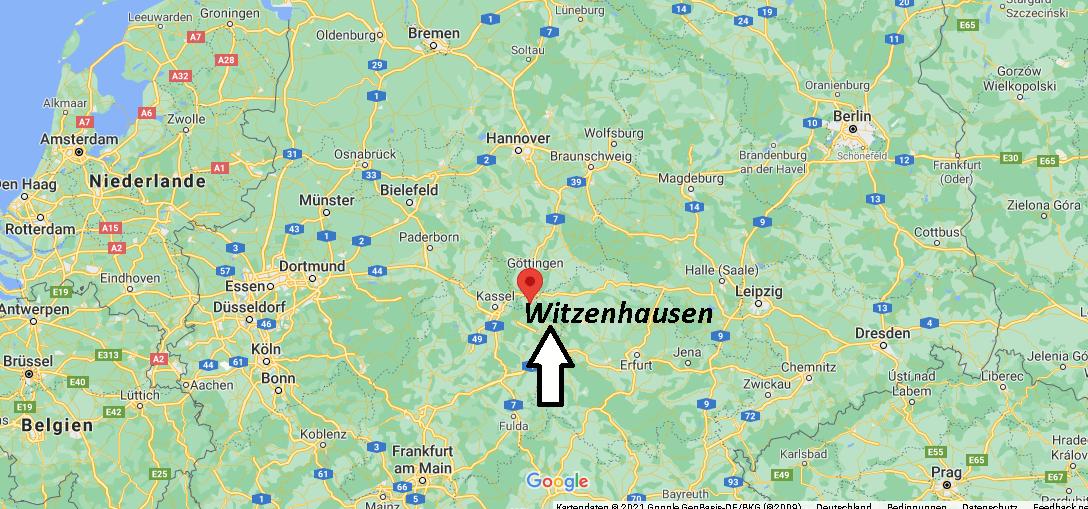 In welchem Bundesland liegt Witzenhausen