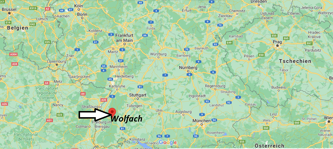 Wo liegt Wolfach