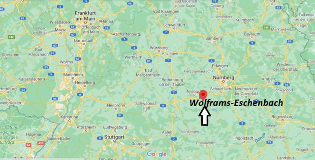 Wo liegt Wolframs-Eschenbach