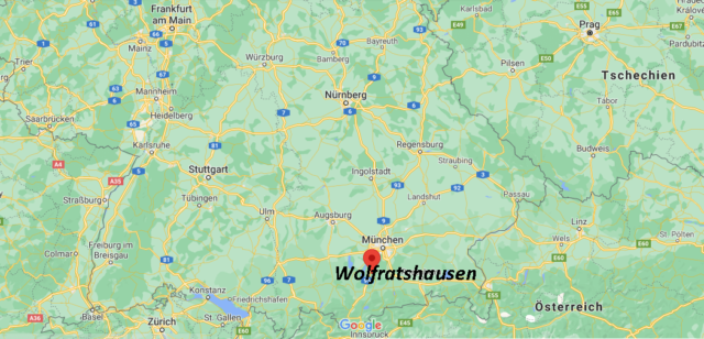 Wo liegt Wolfratshausen