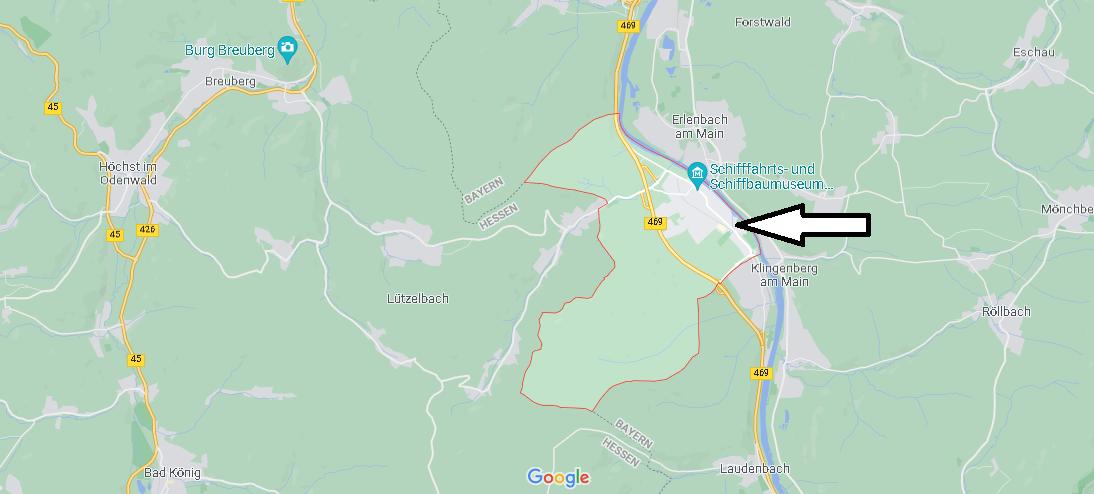In welchem Bundesland liegt Wörth am Main