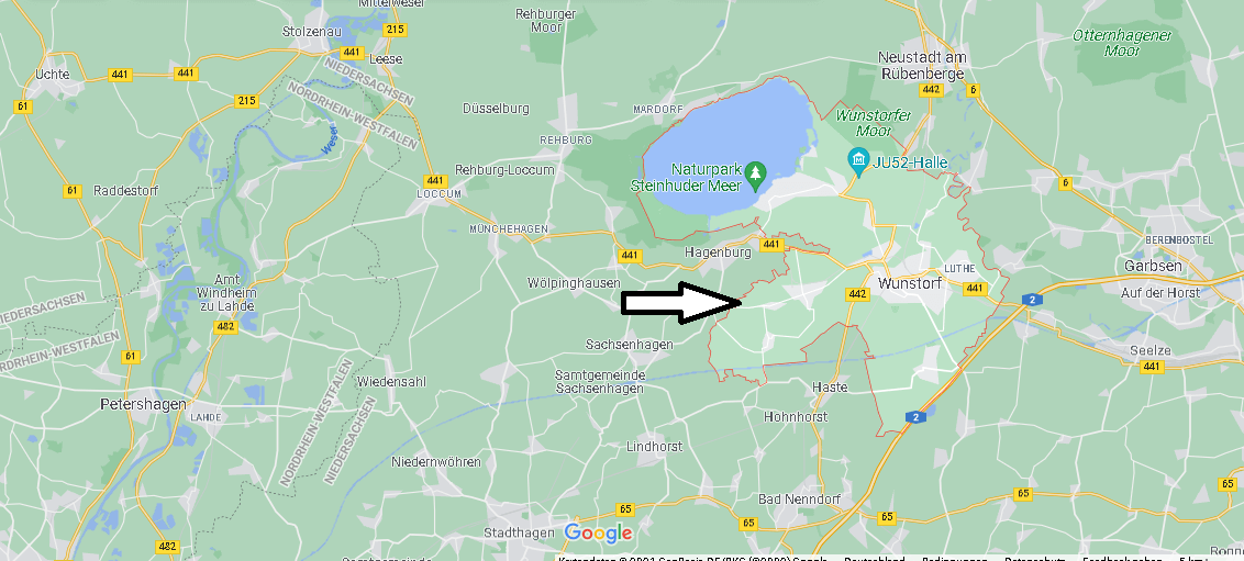 In welchem Bundesland liegt Wunstorf