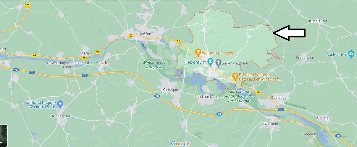 In welchem Bundesland liegt Zeil am Main