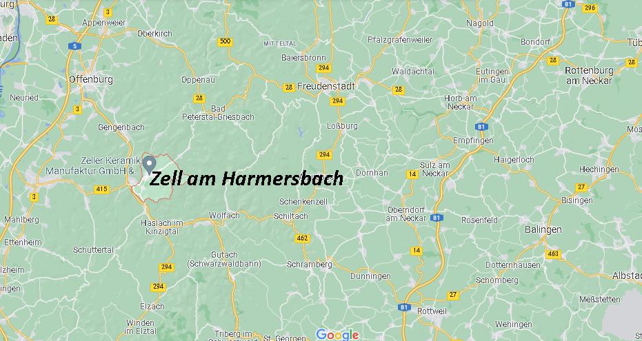 In welchem Bundesland liegt Zell am Harmersbach