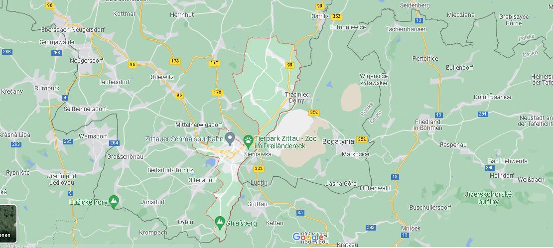 In welchem Bundesland liegt Zittau