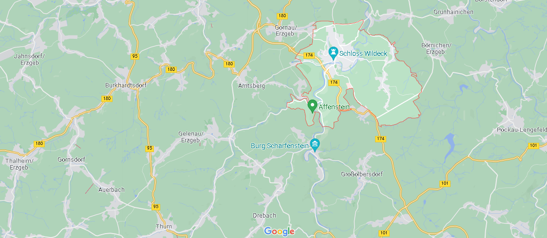 In welchem Bundesland liegt Zschopau