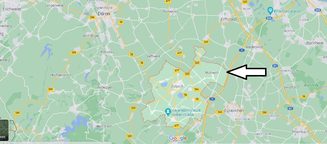 In welchem Bundesland liegt Zülpich