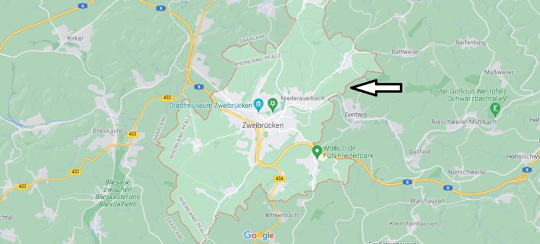 In welchem Bundesland liegt Zweibrücken