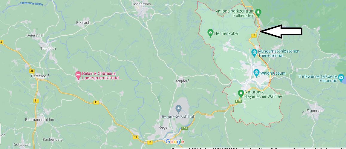 In welchem Bundesland liegt Zwiesel